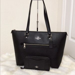 💃Coach Set Gallery Tote